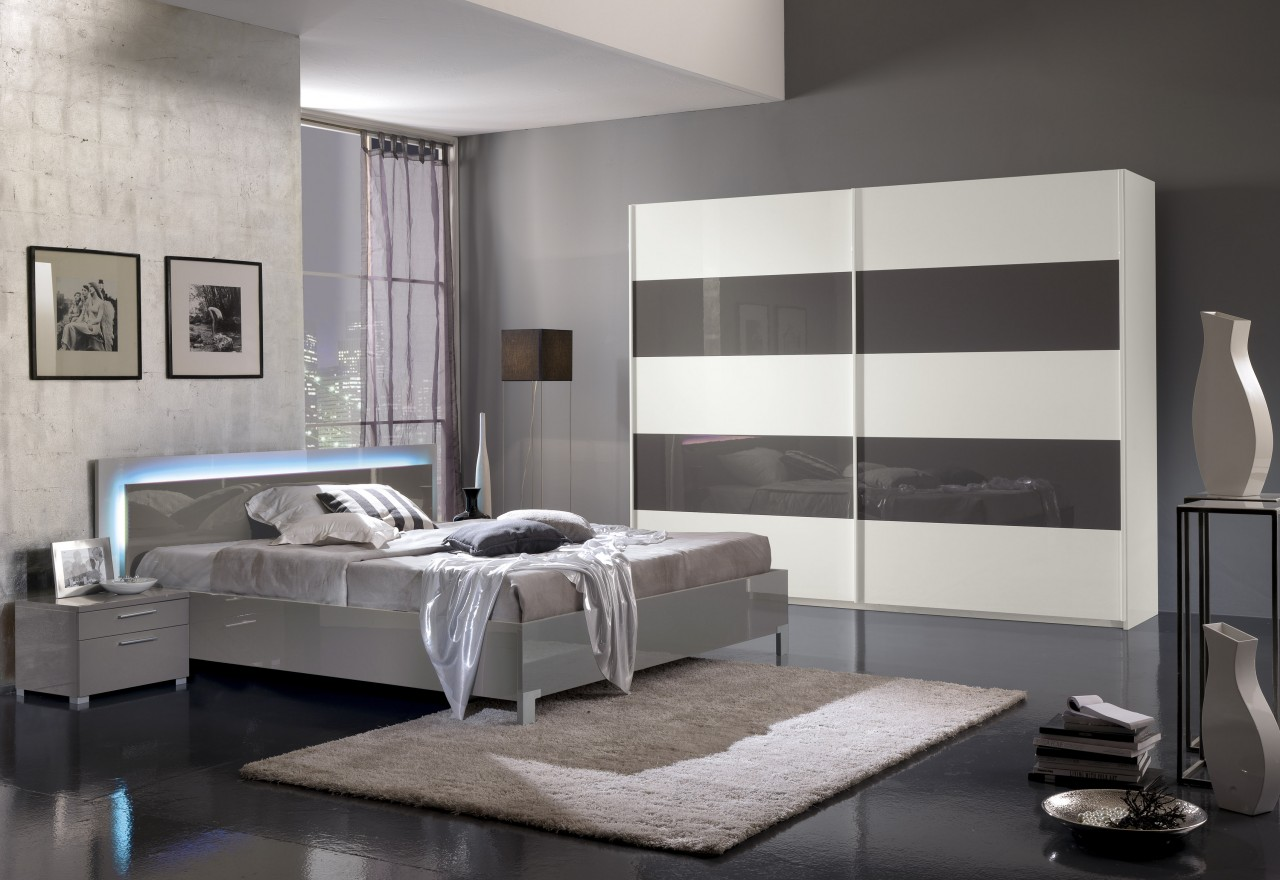 meuble moderne chambre a coucher avec des. Black Bedroom Furniture Sets. Home Design Ideas