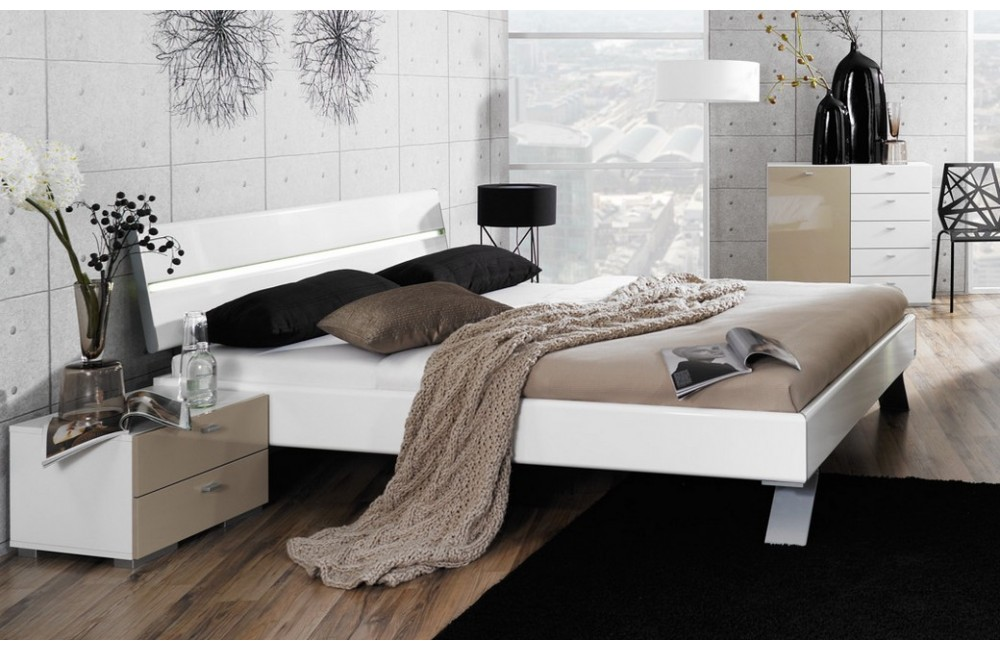Chambre a coucher moderne style italien design de maison for Design chambre a coucher moderne