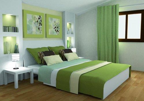 Peinture pour chambre maroc meuble for Chambre design verte